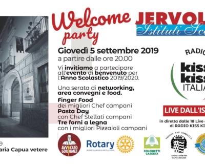 Istituti Scolastici Iervolino presenta WELCOME PARTY 05/09/19