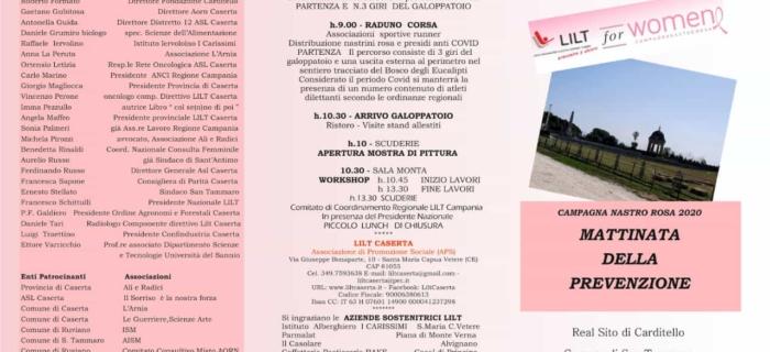 Nastro Rosa | 11 Ottobre 2020
